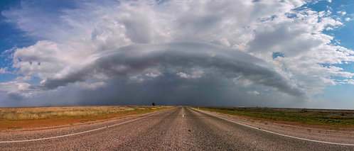 Roebuck Plains Afternoon Storm