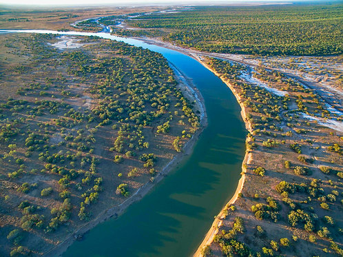 Fitzroy River Areial 4