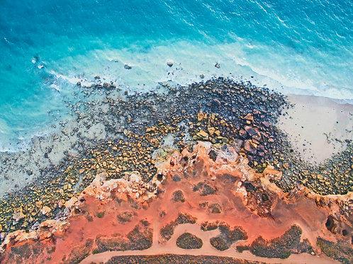 Redell Beach Coast Line