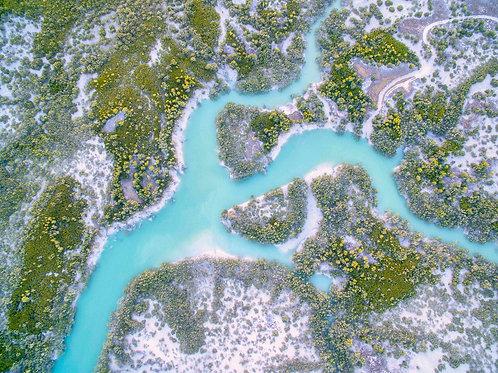 Dampier Creek Areial