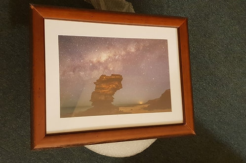 Entrance Point Milky Way A3 Franed Print
