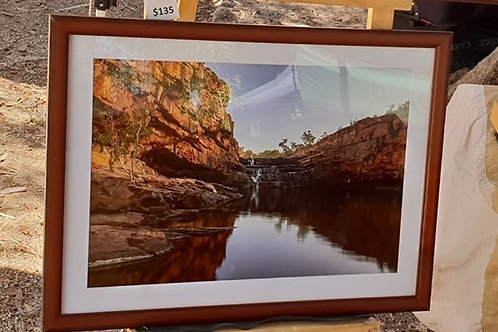 Bells Gorge A2 Framed Print