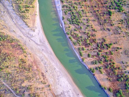 Fitzaroy River Areial