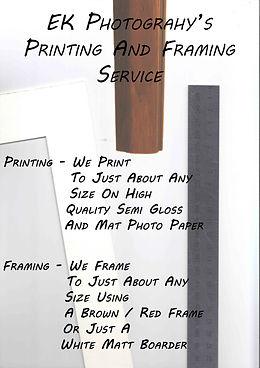 ek printing and framing service ssssss.j