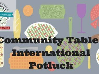 Community Table Event