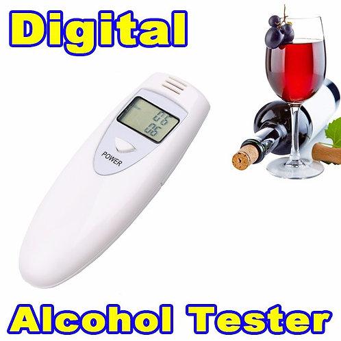 מד אלכוהול דיגיטלי גלאי אלכוהול בדם , תצוגת LCD