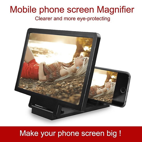 מגדיל מסך לסמארטפון, מסך זכוכית מגדלת לצפייה בסרטים