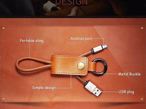 מחזיק מפתחות + מטען כבל USB למיקרו USB