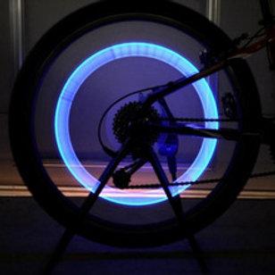 זוג פנסי לד לגלגלי אופניים