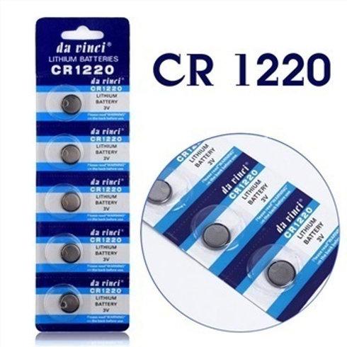 סוללת כפתור ליתיום CR1220 מארז של 5