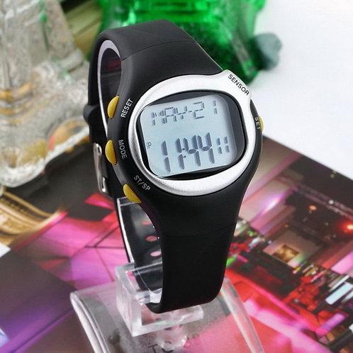 שעון דיגיטלי איכותי , מד דופק , שעון פעילות