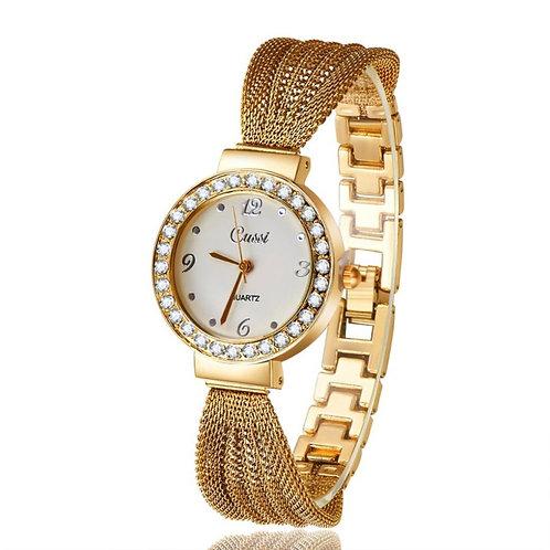 שעון יד מחוגים לנשים , יחודי ומקסים