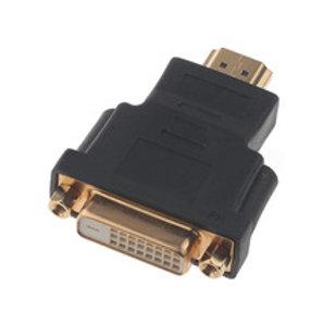 מתאם HDMI זכר ל DVI נקבה