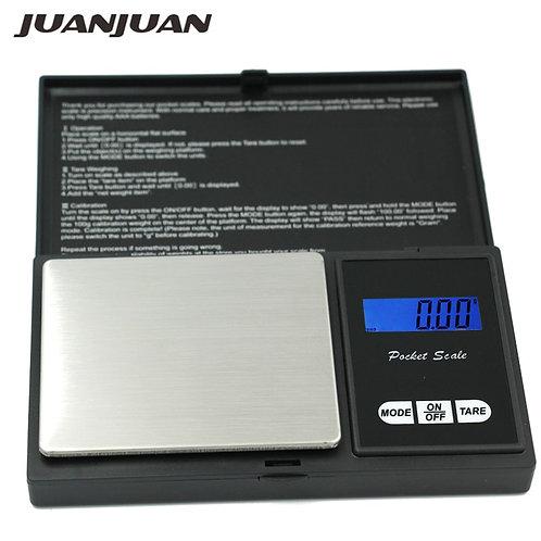משקל כיס דיגיטלי מקצועי עד 200 גרם דיוק עד 0.01