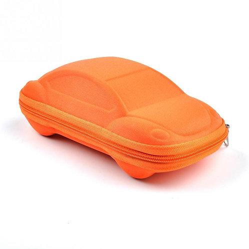 נרתיק למשקפיים לילד בצורת מכונית | נרתיק קשיח למשקפי שמש  | צעצוע לילד