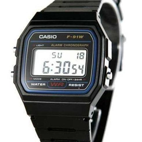 שעון דיגיטלי קסיו ,אלקטרוני לד רצועת סיליקון לגברים נשים וילדים