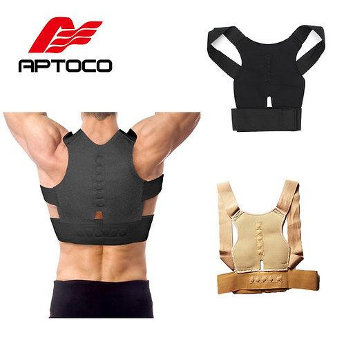 *חגורת גב ליישור הגב מנאופרן ,תמיכה בגב ובכתפיים ליציבה נכונה *במלאי מידי
