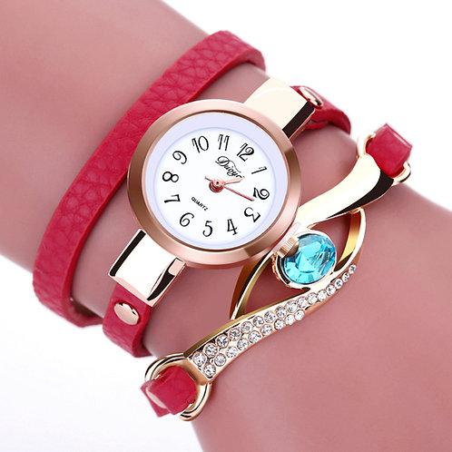 שעון מעוצב לאשה + עין כחולה