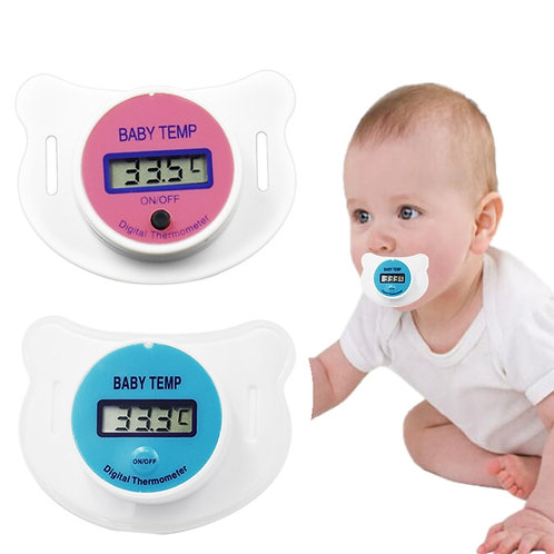 מד חום מוצץ לתינוק , מד חום דיגיטלי לפה