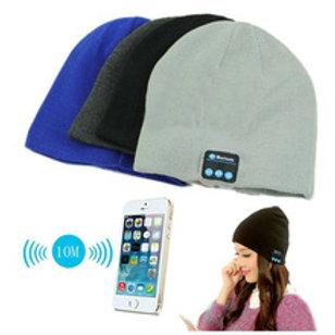 כובע מחמם עם דיבורית ורמקול בלוטוס