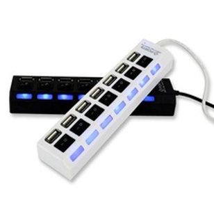 מפצל  7 יציאות USB