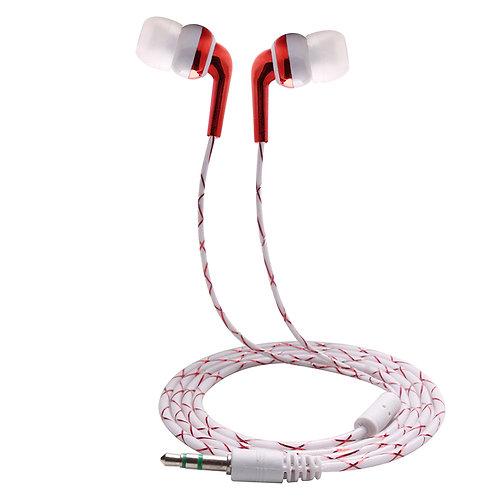אוזניות  סטריאו  לסמסונג גלקסי , לאייפון באיכות מעולה , זוהרות בחושך