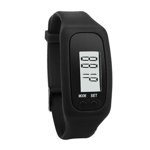 שעון פדומטר מד צעדים מרחק זמן וקלוריות