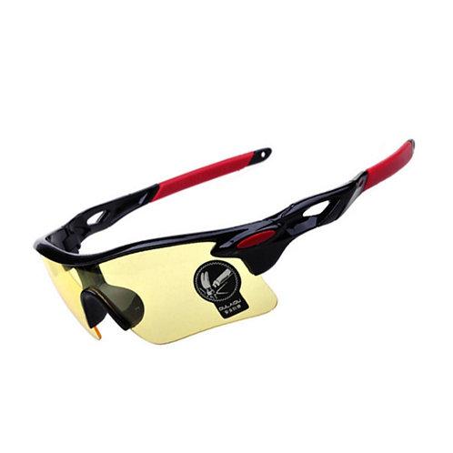 משקפי רכיבה לאופניים או אופנוע לרכיבת לילה
