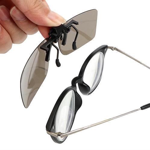 קליפ משקפי שמש פולרואיד על משקפי ראיה , קליפון שמש למשקפיים By0134