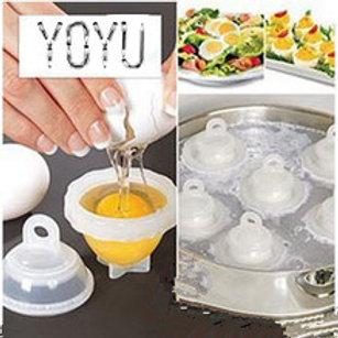 הכנת ביצה קשה ללא קליפות-משלוח חינם