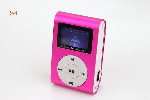 נגן MP3 קליפס עם מסך תצוגה