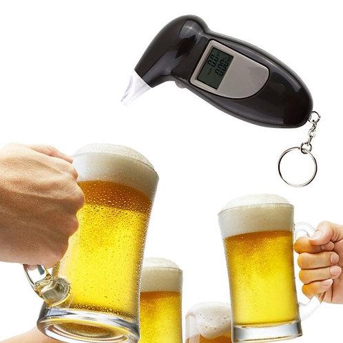 מד אלכוהול דיגיטלי גלאי אלכוהול ינשוף עים התראה קולית , תצוגת LCD