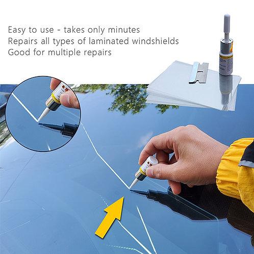 נוזל לטשטוש שריטות וסדקים לשמשת הרכב , מסיר שריטות ממסך הפלאפון או הסמארטפון