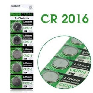 סוללת כפתור ליתיום CR2016