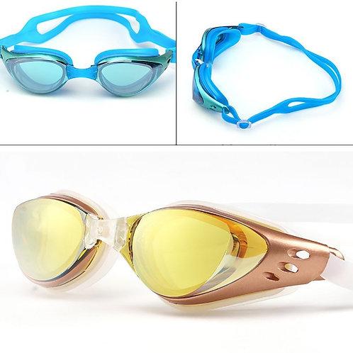 משקפי שחייה איכותיים לים ולברכה , כולל מסנן קרינה