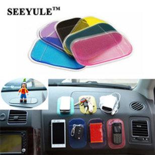 משטח ג'ל לרכב מונע החלקה לפלאפון לנגן ומוצרים אחרים