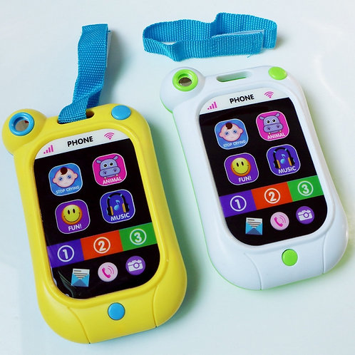 'פלאפון צעצוע לתינוק משמיע מנגינות מרגיעות - מסך טאצ