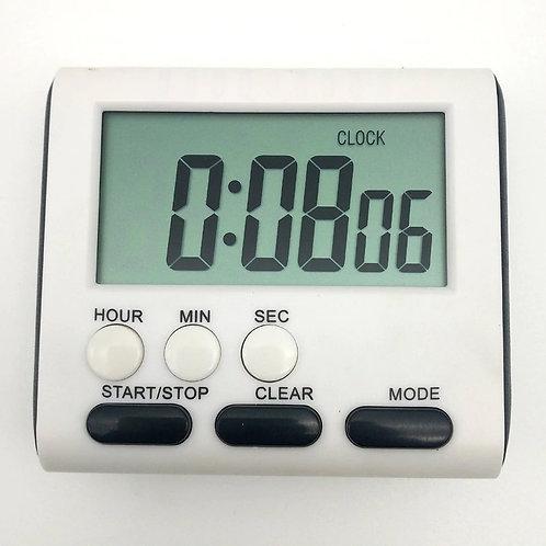 טיימר דיגיטלי ספירה לאחור , מדידת זמן עד 120 דקות By0139