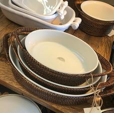 Large Casserole Dish & Holder