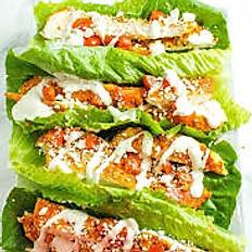 KETO Buffalo Chicken Lettuce Wraps (3)