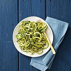 GLUTEN-FREE Pesto & Veggie Zoodles