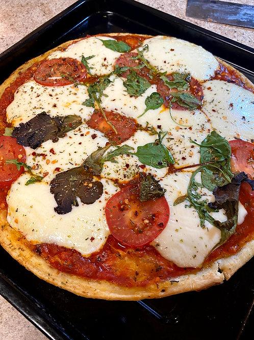 Quick Margherita Pizza