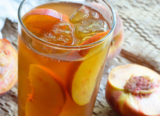 Peach Flavored Tea is June's Tea of the Month