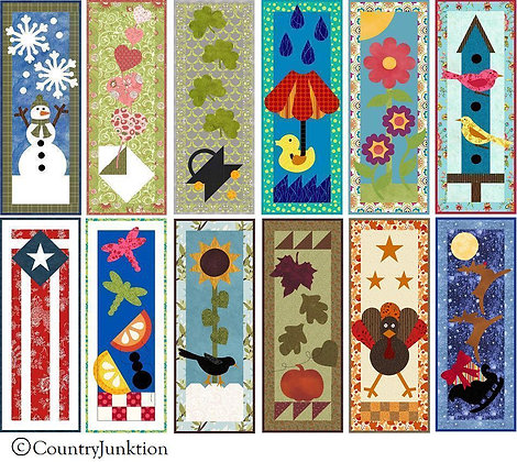 FREE Quilt Patterns | Country Junk'tion Home | Ohio | Year of Mini ... : mini quilts - Adamdwight.com