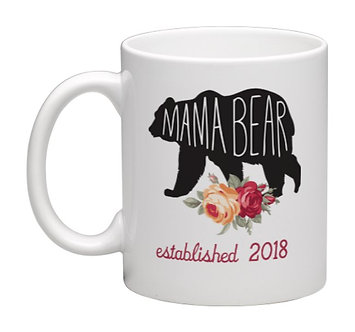Coffee Mug Mama Bear 11oz.