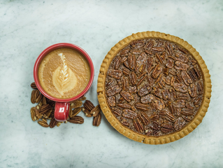 Pecan Pie is November's Coffee Flavor of the Month