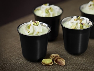 Pistachio is March Coffee Flavor of the Month
