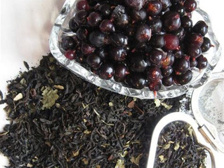 Black Currant Tea is November's Tea of the Month