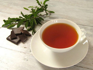 Chocolate Mint Tea is April's Tea of the Month