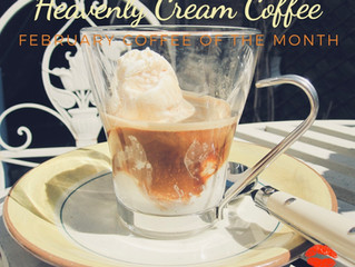 Heavenly Cream is February's Coffee Flavor of the Month